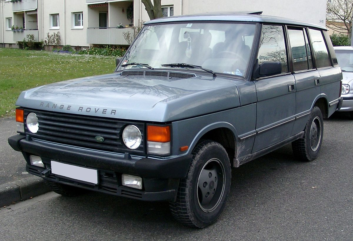 Range Rover Wikipedia