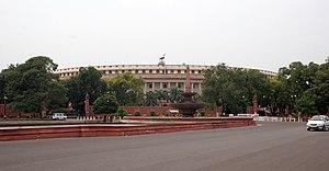 Sansad Bhavan, parliament building of India.