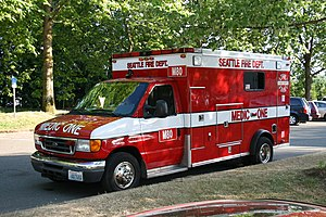 English: Seattle Fire Department Medic 80