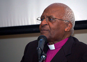 English: South African Anglican Archbishop Des...