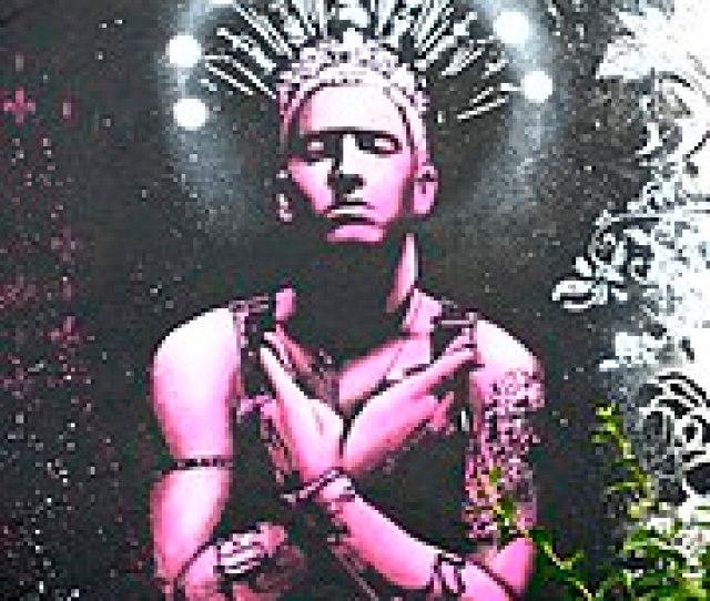 Eminem Artwork In Southsea Skatepark