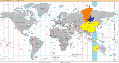 UTC+8(藍色:12月,黃色:全年,橙色:六月)