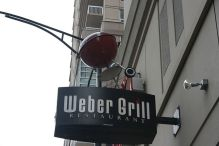 Weber Grill Restaurant in Chicago