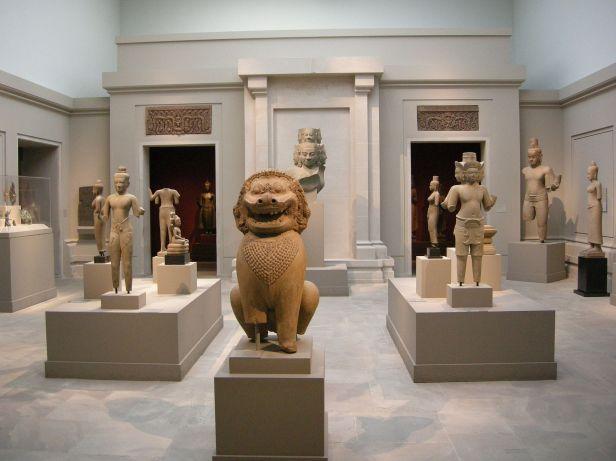 Asian art in the Metropolitan Museum of Art