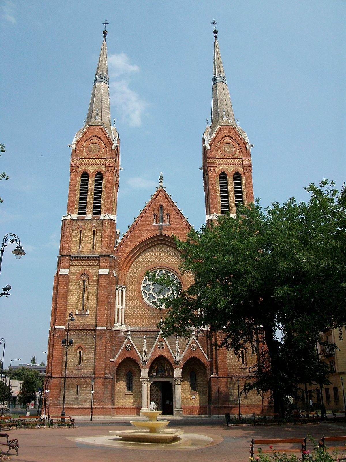 CoCathedral of St Anthony of Padua Bkscsaba  Wikipedia