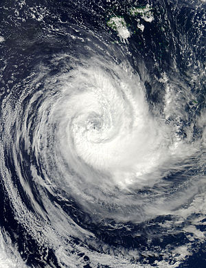 English: Tropical Cyclone Bune off of Fiji on ...