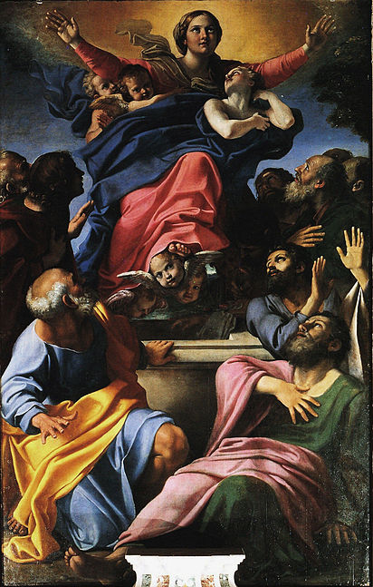 Assumption of the Virgin Mary (Rome), Annabile Carracci