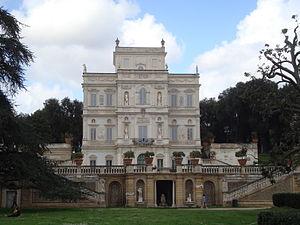 Français : Le palais del Bel Respiro de la vil...