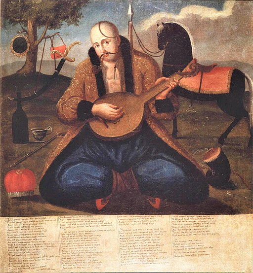 Cossack Mamay 1st half of 19th c (4)