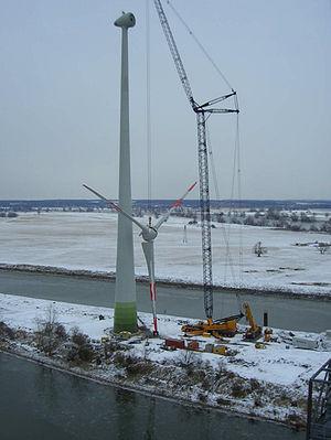 Enercon E70-4 wind energy converter at Steinko...
