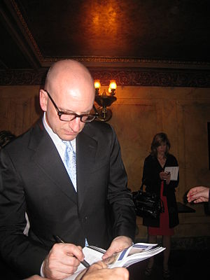 Steven Soderbergh attending the premiere of hi...