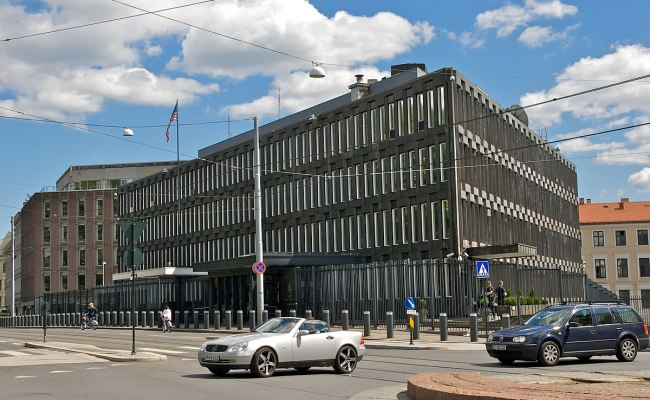 Usas Ambassade I Oslo Wikipedia
