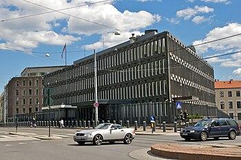 U.S. Embassy, Oslo, Norway.