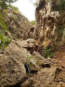 Kletterstelle im Karmel-Gebirge