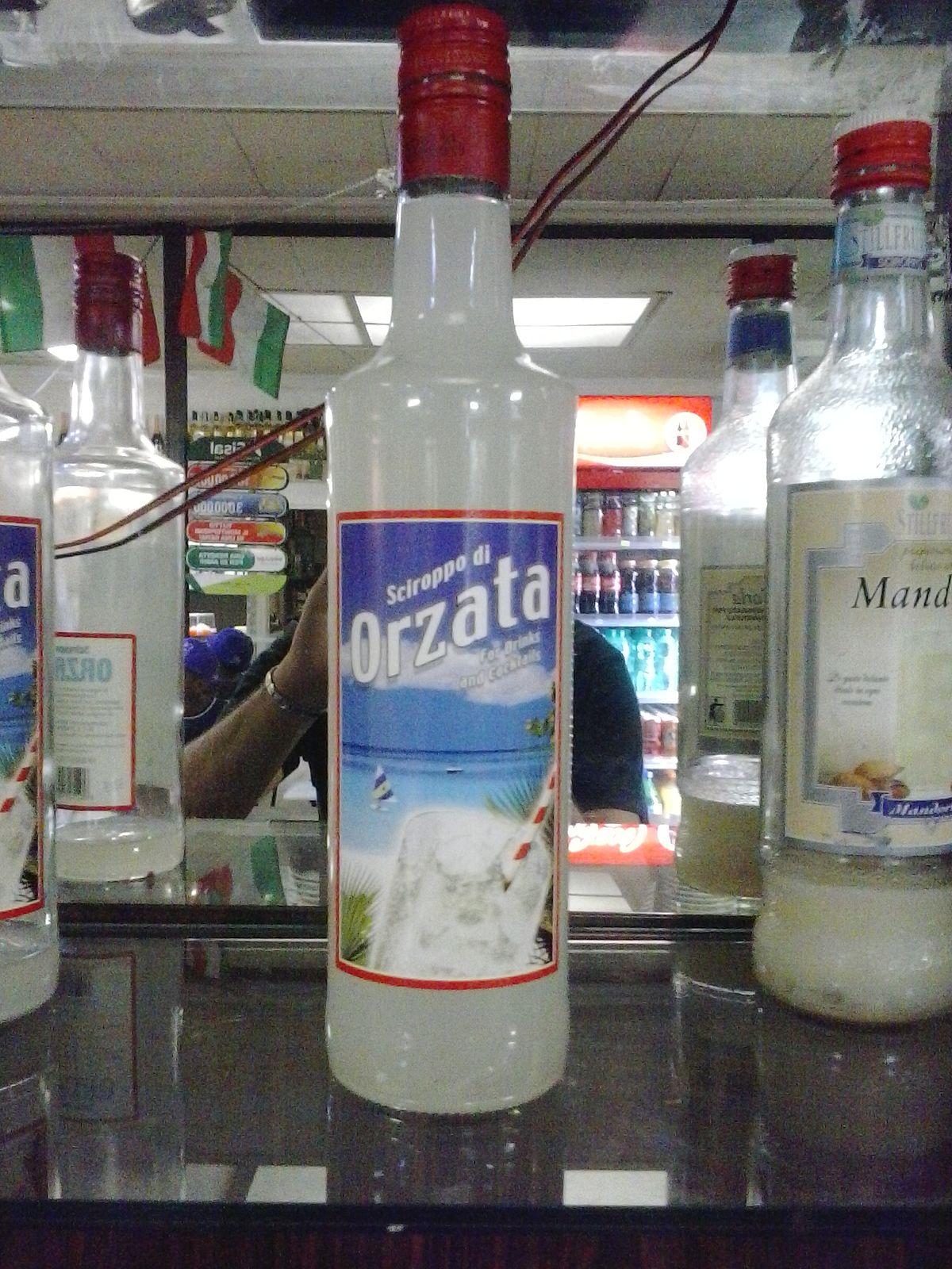 Orgeat syrup  Wikipedia