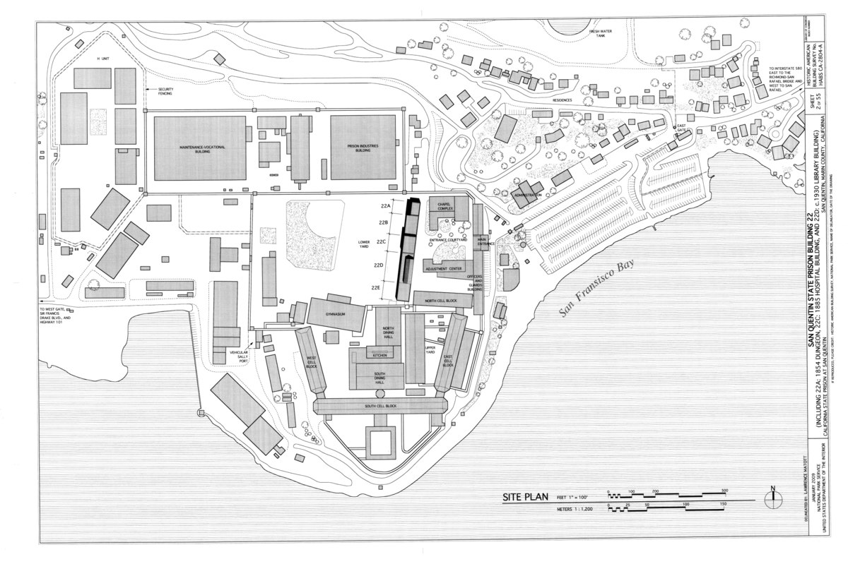 File San Quentin Site Plan