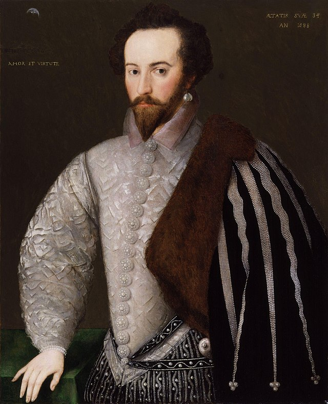portrait of Sir Walter Raleigh