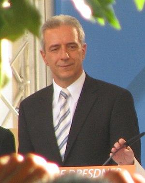 Stanislaw Tillich, Minister-President of the F...