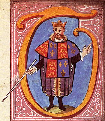 Thomas Hawley, Clarenceux King of Arms as depi...