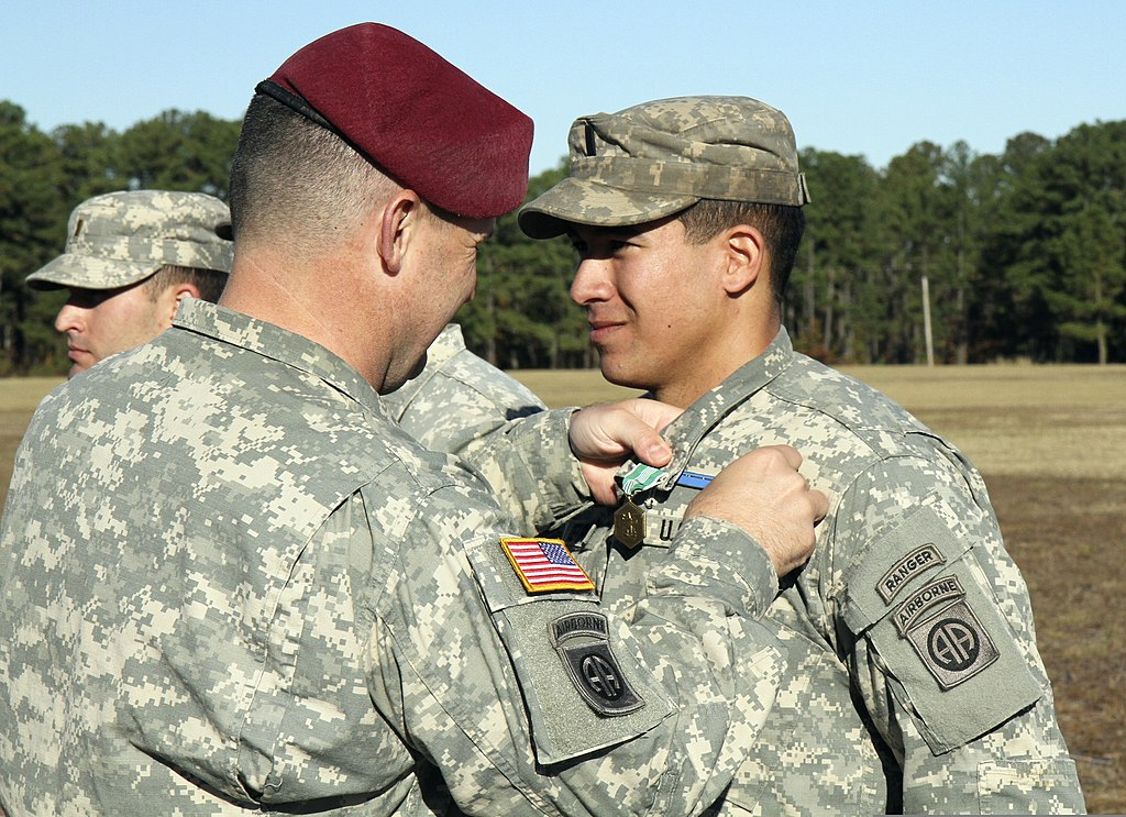 File U S Army Col Michael Fenzel Left The Commander Of The 3rd Brigade Combat Team 82nd