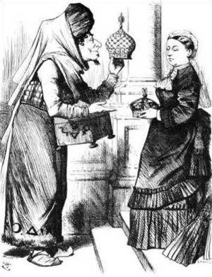 An 1876 political cartoon, originally publishe...