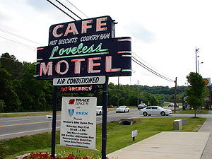 The Loveless Cafe sign