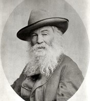 Photo portrait of American poet Walt Whitman. ...