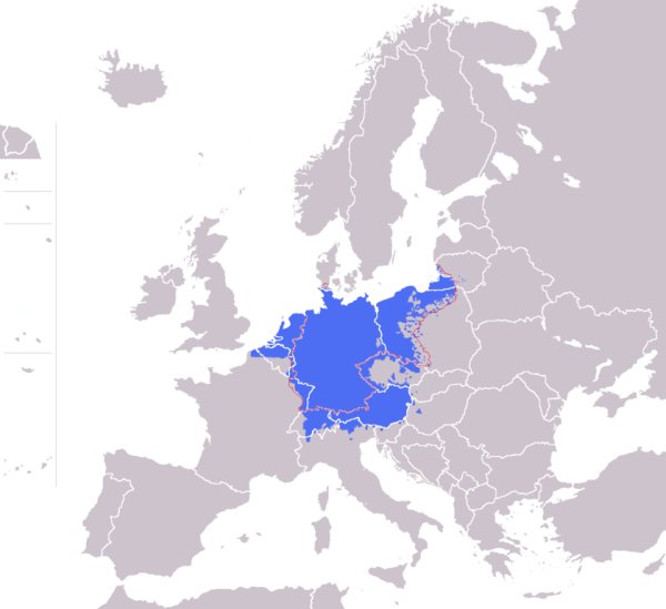 File01Europe blank map with Germany Regionpng