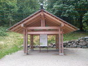 English: Information booth at Bainbridge Islan...