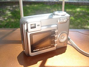 A photo from the back of the Kodak EasyShare C...