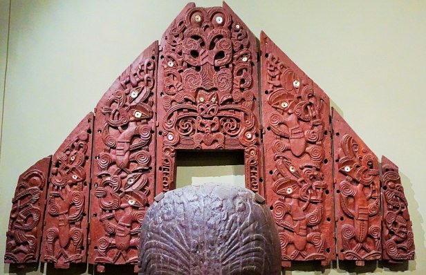 Canterbury Museum, Christchurch - Joy of Museums - Maori Pātaka or Storehouse Panels