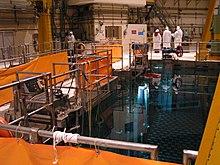 Abklingbecken im Kernkraftwerk Caorso (Quelle: Wikipedia)