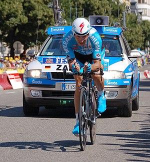 Deutsch: Erik Zabel beim Prolog der Tour de Fr...