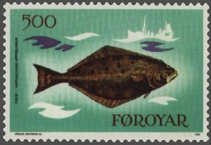 Atlantic halibut (Hippoglossus hippoglossus) o...