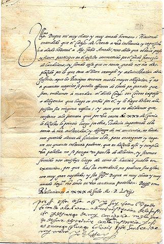 ArchivoFelipe II Carta1557jpg  Wikipedia la