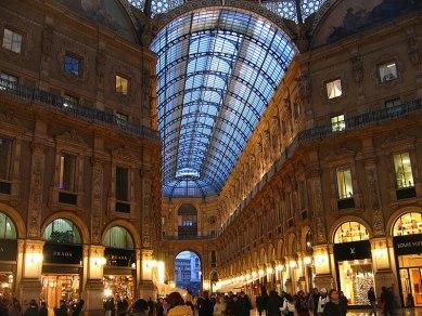 La Galleria Vittorio Emanuele II Milano, Italia