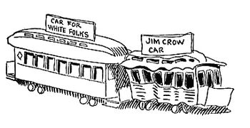 """White"" and ""Jim Crow"" rai..."