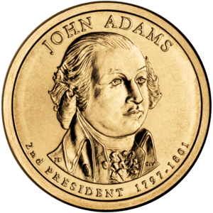 Presidential $1 Coin Program coin for John Ada...