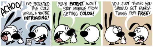 Cold Virus cartoon