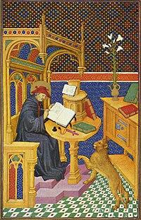 Resultat d'imatges de escriba medieval