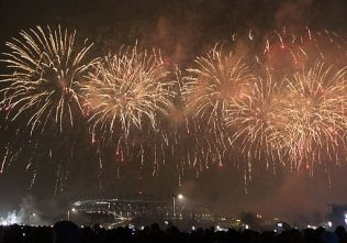 New Year 2014 celebration at the Warsaw National Stadium 6