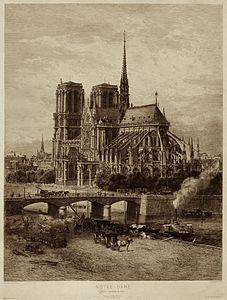 Notre Dame De Paris Au Moyen Age : notre, paris, moyen, Notre-Dame, Paris, Wikipedia