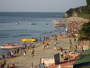 White Beach in Puerto Galera, Oriental Mindoro...