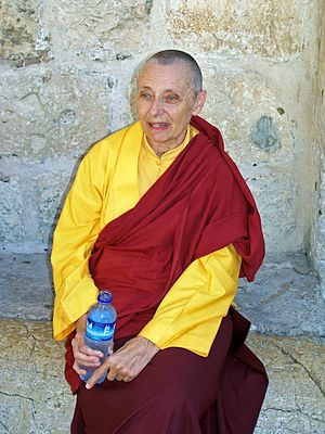 Jetsunma Tenzin Palmo at the Church of the Hol...