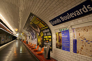 Grands Boulevards (Paris Métro)