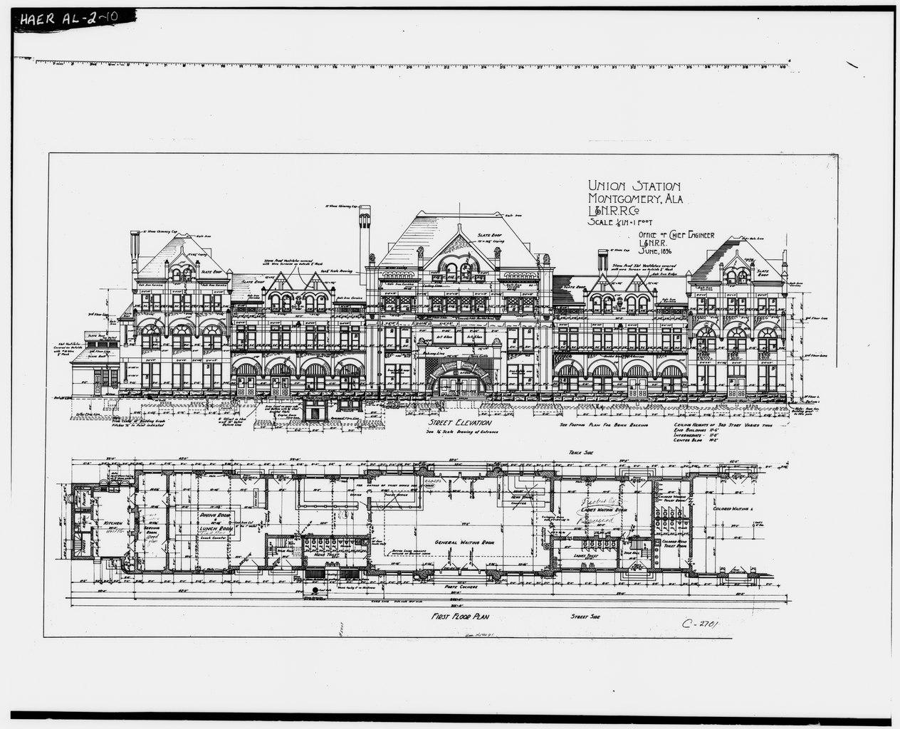File:Photocopy of original Architect's Drawing (1896
