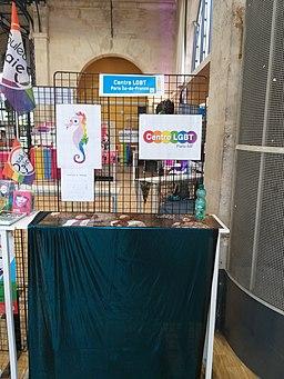 Printemps des assoces 2019 stand centre LGBT Paris