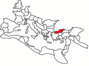 Bithynia as a province of the Roman Empire, 120 AD