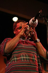 Roy Campbell at Jazzy Spring Festival 2008 (Bu...
