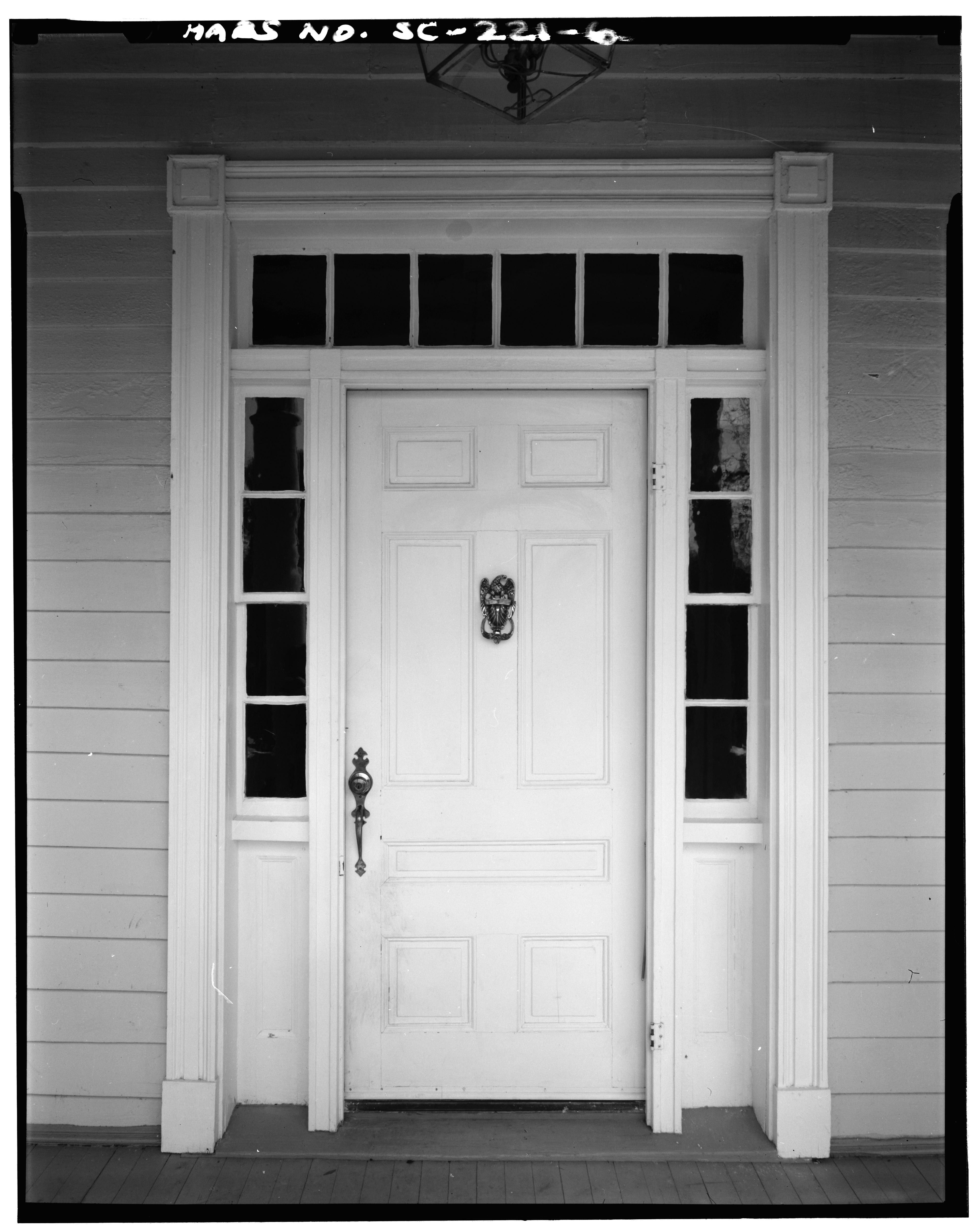 Front Door Elevation
